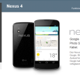 Incepand de astazi Nexus 4 este in stoc si disponibil pentru achizitionare in magazinele on-line Google Play Marea Britanie, Franta si Spania, in ambele versiuni de 8GB si 16 GB, […]