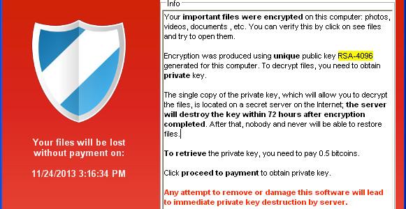 Amenintarea informatica Cryptolocker, ce blocheaza accesul utilizatorului la fisierele din computer si solicita bani in schimbul deblocarii lor, afecteaza, in Romania, deopotriva organizatii si utilizatori individuali, provocand pagube semnificative. Potrivit […]