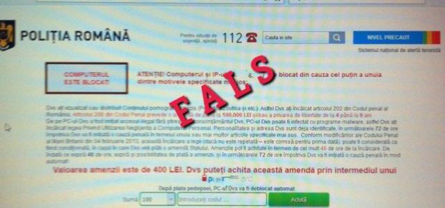 Poliţia Română nu solicită efectuarea de transferuri online pentru recuperarea de date. Avertizează, de asemenea, că poliţiştii specializaţi în combaterea criminalităţii informatice au fost sesizaţi despre desfăşurarea unei campanii prin […]