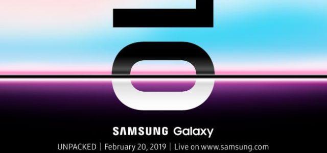 Samsung a anunțat data oficială la care va lansa noul Galaxy S10, respectiv 20 februarie, iar evenimentul va avea loc în San Francisco. Noul Galaxy S10 va fi un upgrade […]