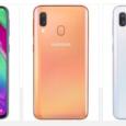 Samsung urmează să lanseze în Europa modelul A40. Noul terminal vine echipat cu procesor Exynos 7885, două camere principale, o cameră frontală de 25 MP și interfață OneUI. Galaxy A40 […]